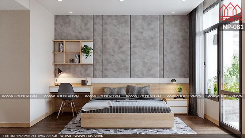 Khám phá không gian phòng ngủ nhỏ nhưng vẫn đầy đủ tiện nghi