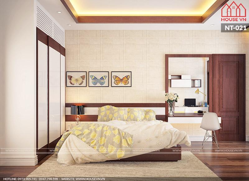 Khám phá mẫu nội thất phòng ngủ hiện đại đa phong cách của Housevn