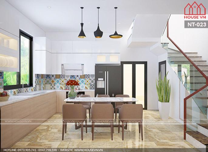 Gợi ý cách bày trí nội thất phòng bếp thuận tiện trong sinh hoạt