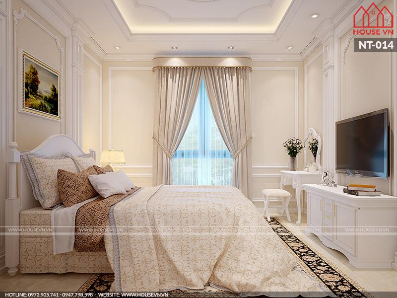 Gợi ý thiết kế nội thất phòng ngủ phong cách Pháp đẹp đẳng cấp
