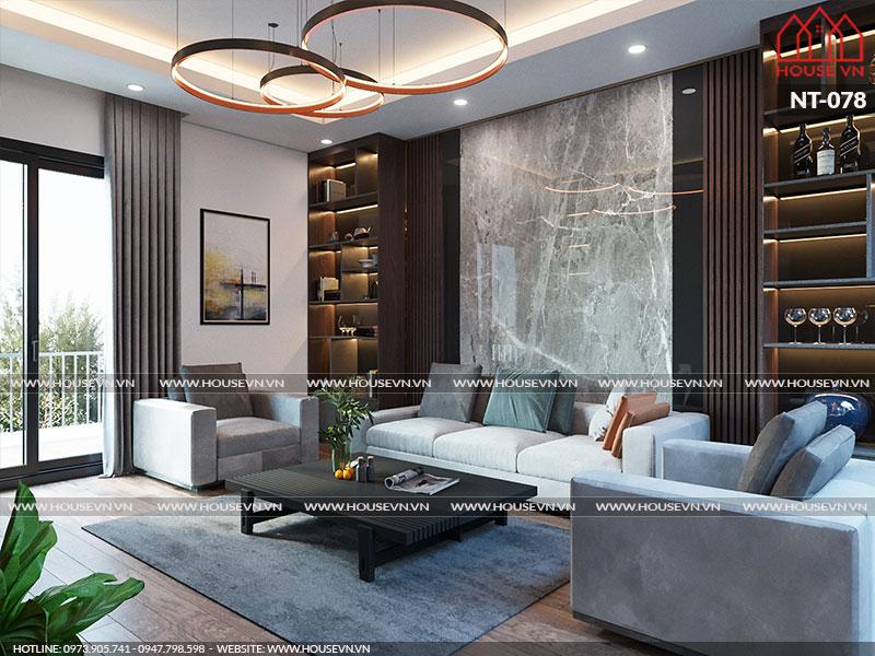 Những thiết kế nội thất phòng khách được yêu thích nhất năm 2019