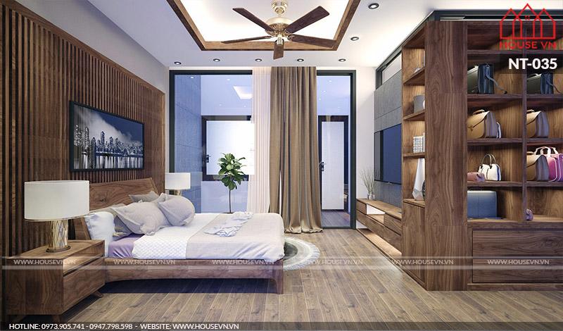 Những mẫu thiết kế nội thất không gian phòng ngủ ấm cúng