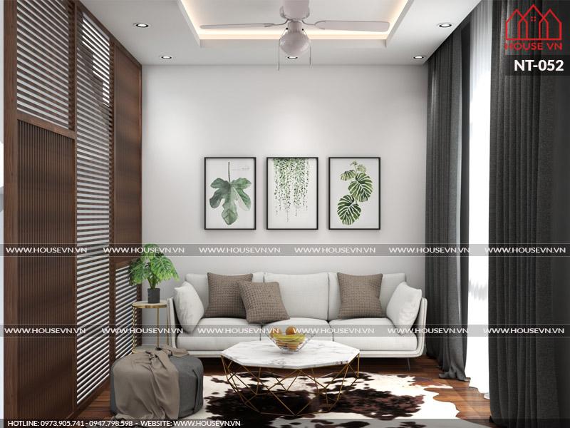 Giải pháp thiết kế nội thất phòng khách đẹp trong không gian nhỏ