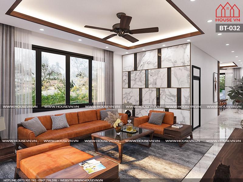 Chiêm ngưỡng thiết kế nội thất phòng khách đẹp mới lạ, cuốn hút