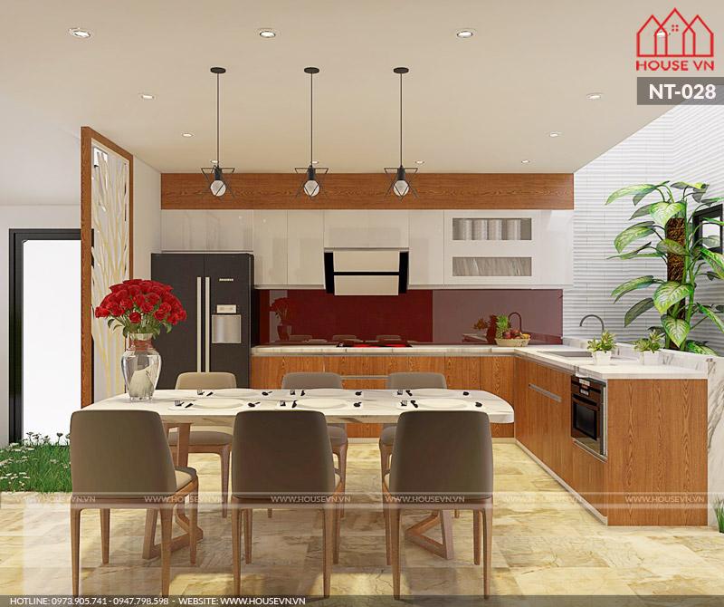 Tư vấn thiết kế nội thất không gian bếp ăn khoa học, hợp phong thủy