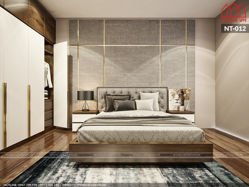 Housevn - đơn vị thiết kế nội thất phòng ngủ uy tín, chuyên nghiệp