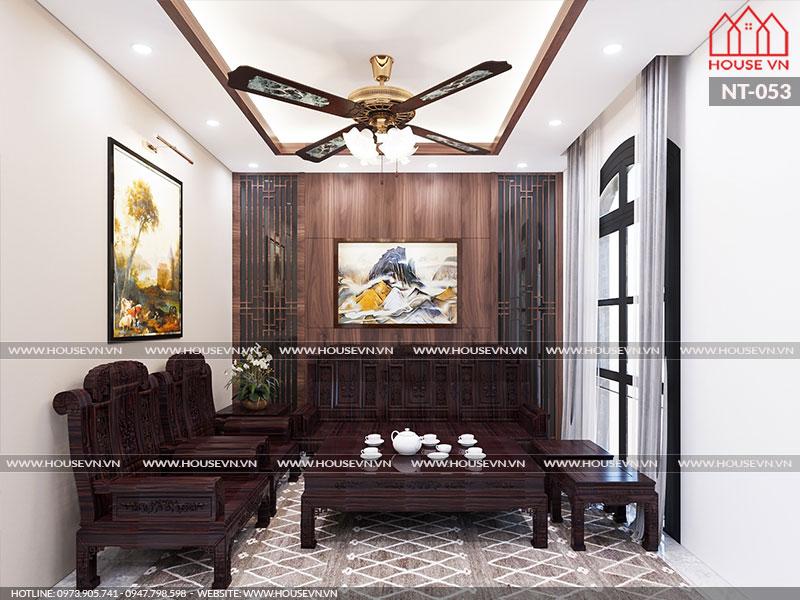 Mãn nhãn trước những thiết kế nội thất phòng khách cổ điển đẳng cấp
