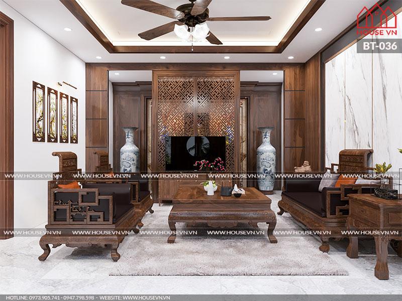Gợi ý cách bày trí nội thất không gian phòng khách đẹp tiện nghi