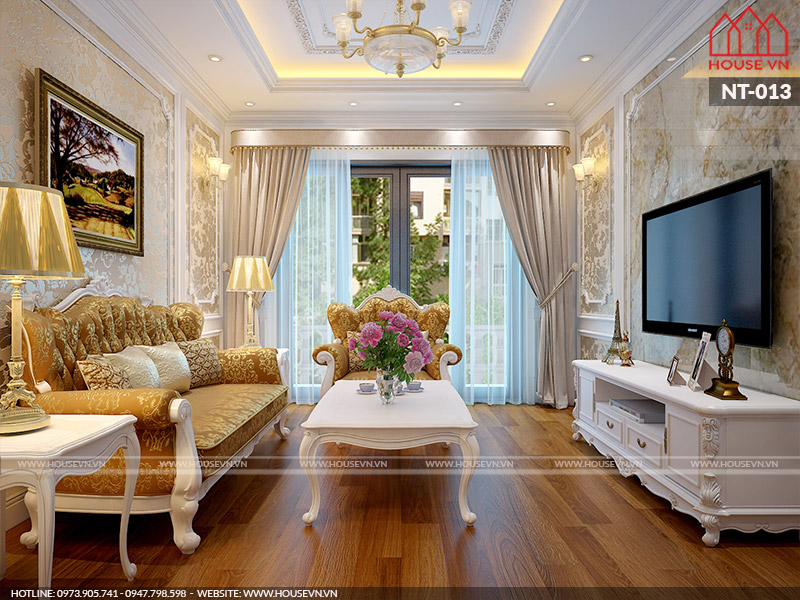 Mẫu nội thất phòngkháchcổđiển nên thiết kế nếu không phải hối tiếc