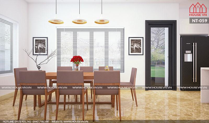 Gợi ý cách lựa chọn và bày trí nội thất bếp ăn khoa học, tiện nghi