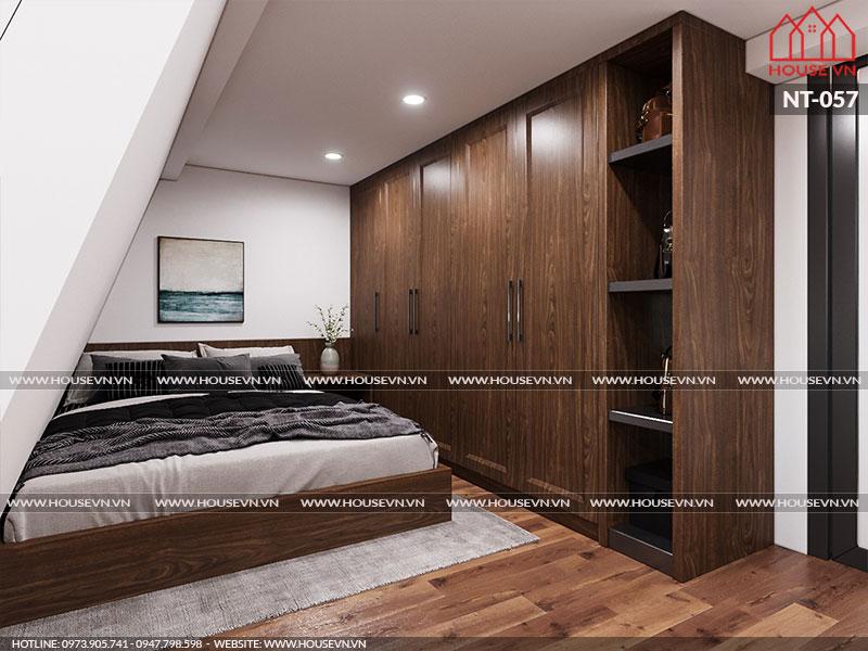 Ý tưởng thiết kế nội thất phòng ngủ tiết kiệm không gian