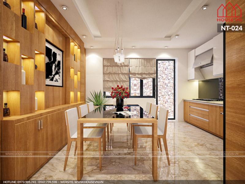 10 mẫu nội thất phòng ăn nhỏ xinh bày trí tiện nghi chị em mê mẩn