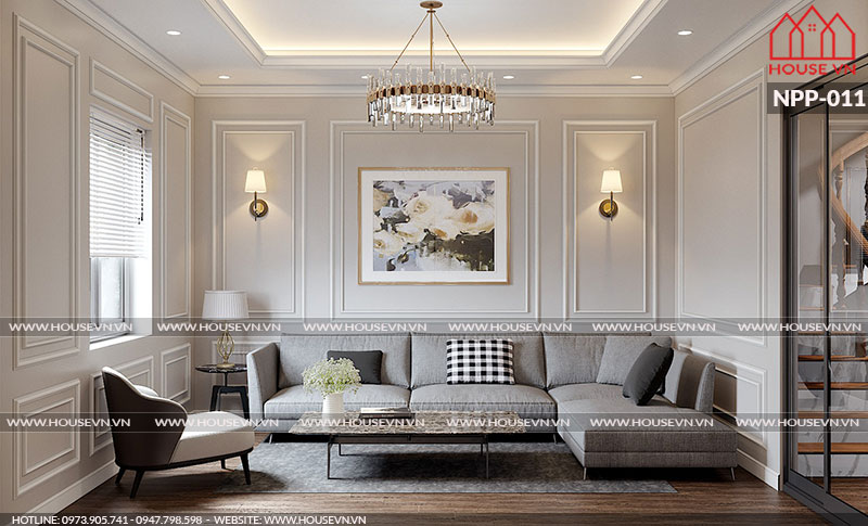 Chiêm ngưỡng những thiết kế nội thất phòng khách nhỏ đẹp ấn tượng