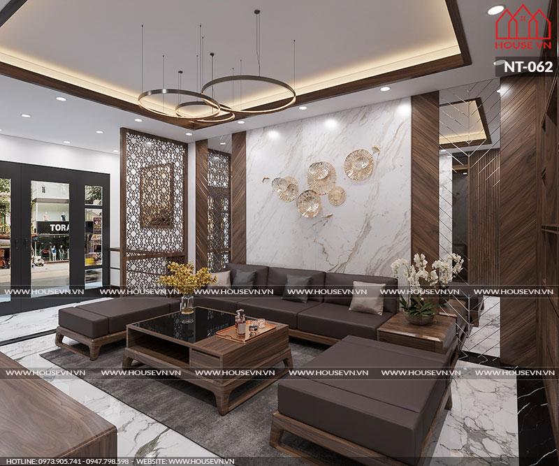 Phương án thiết kế nội thất nhà ống hiện đạiđẹpchinh phục mọi ánh nhìn, NT-062