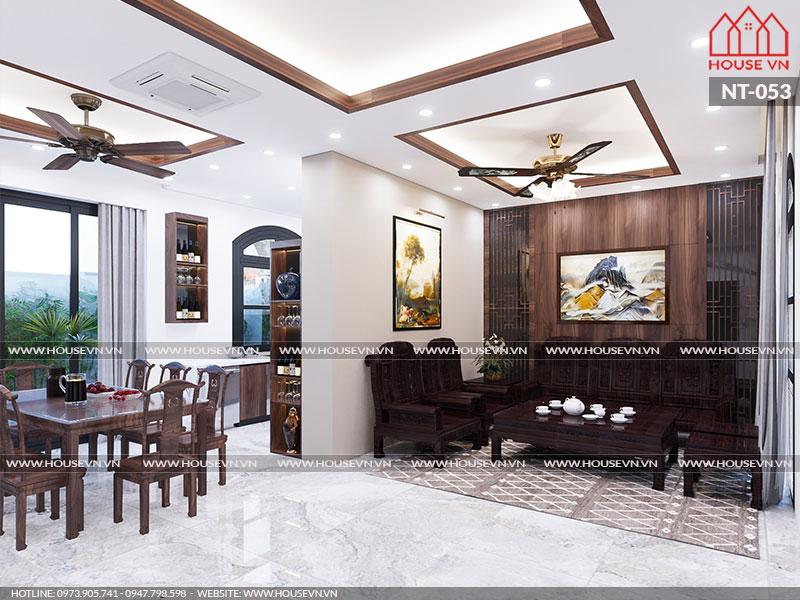 Ý tưởng thiết kế nội thất biệt thự đẹp đẳng cấp tại Vinhomes Imperia Hải Phòng, NT-053