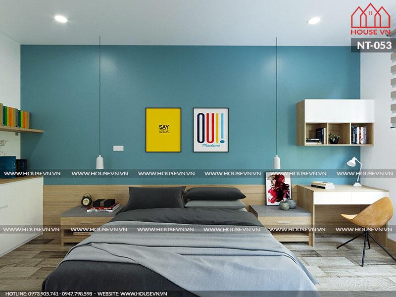 Mẫu nội thất phòng ngủ được thiết kế theo xu hướng mới nhất hiện nay