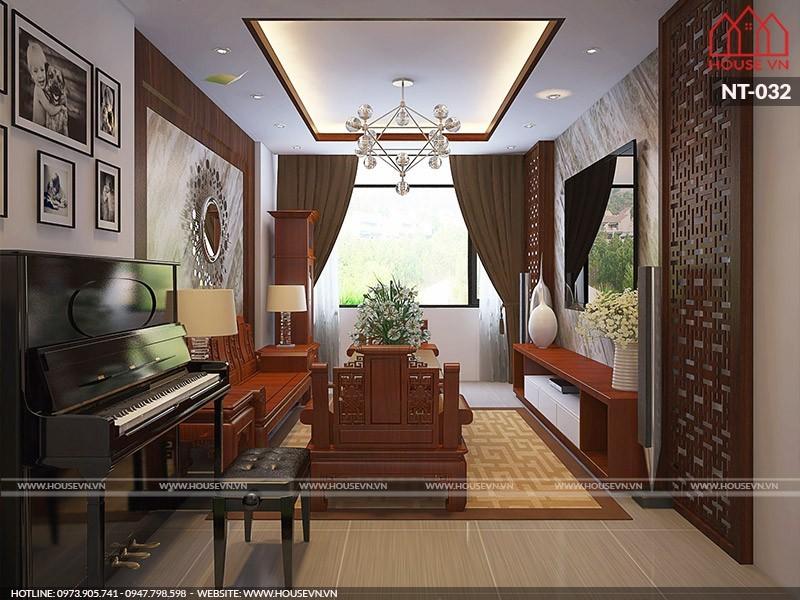 Chiêm ngưỡng mẫu thiết kế nội thất nhà ống hiện đại kết hợp kinh doanh
