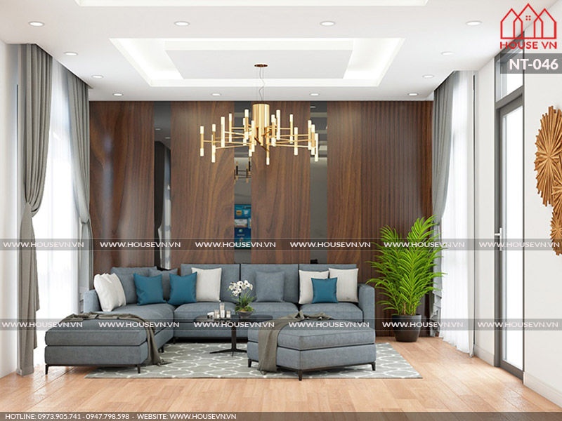 Ý tưởng thiết kế nội thất phòng khách được yêu thích nhất hiện nay