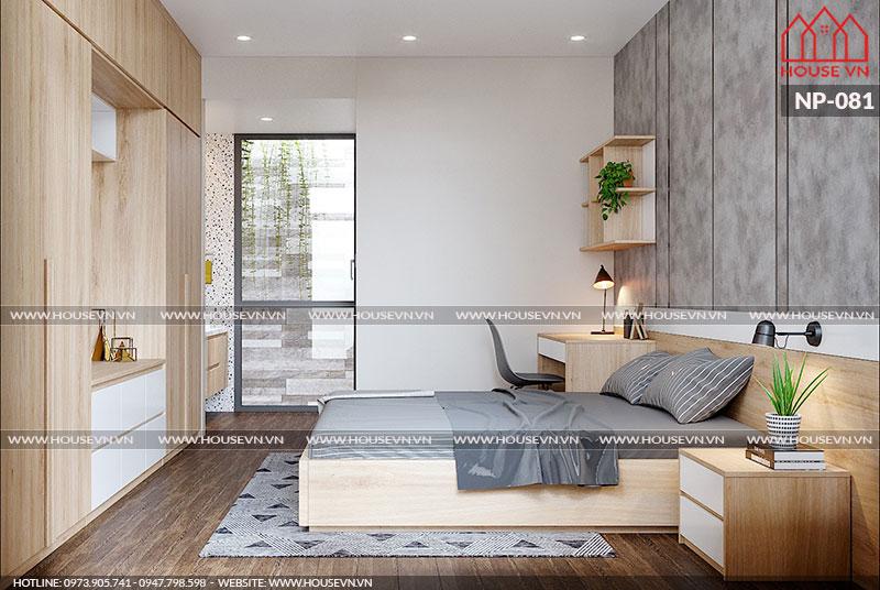 Cách bày trí nội thất phòng ngủ khoa học, tiết kiệm diện tích