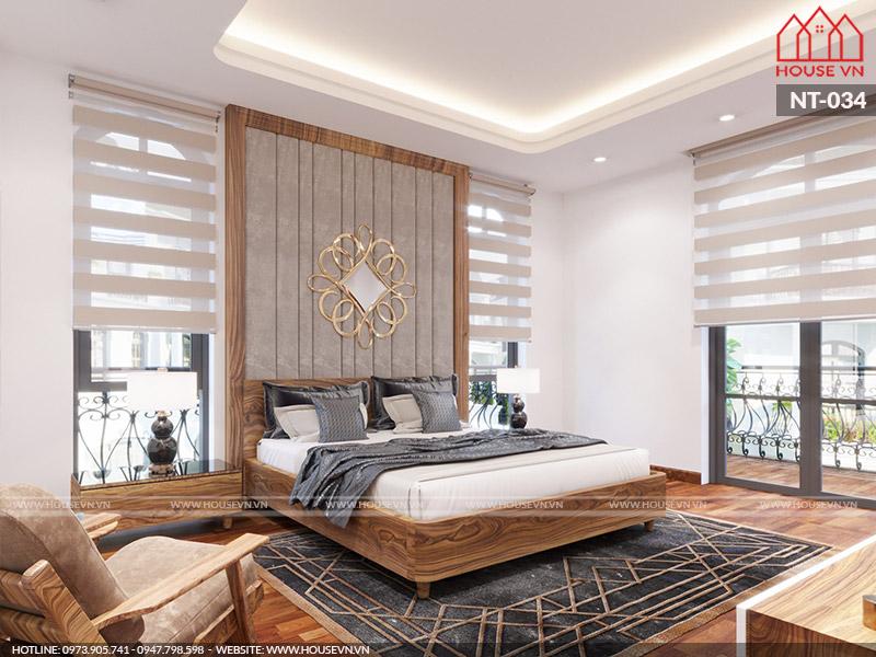 Gợi ý bày trí nội thất phòng ngủ đẹp hợp phong thủy