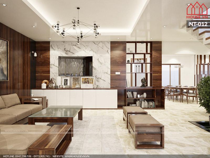 Xu hướng thiết kế nội thất phòng khách hiện đại thịnh hành nhất hiện nay