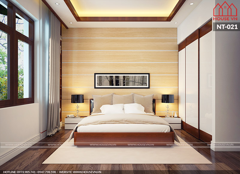 Mẫu phòng ngủ đẹp hiện đại của Housevn đang được quan tâm