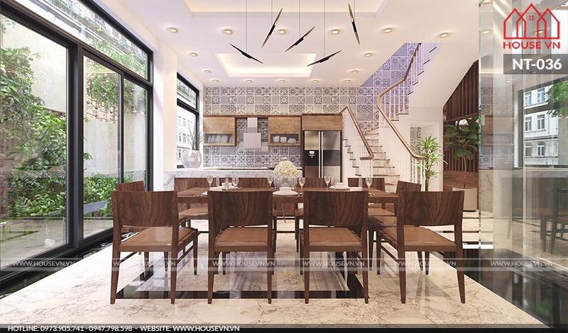 Khám phá không gian phòng bếp đẹp cho biệt thự hiện đại