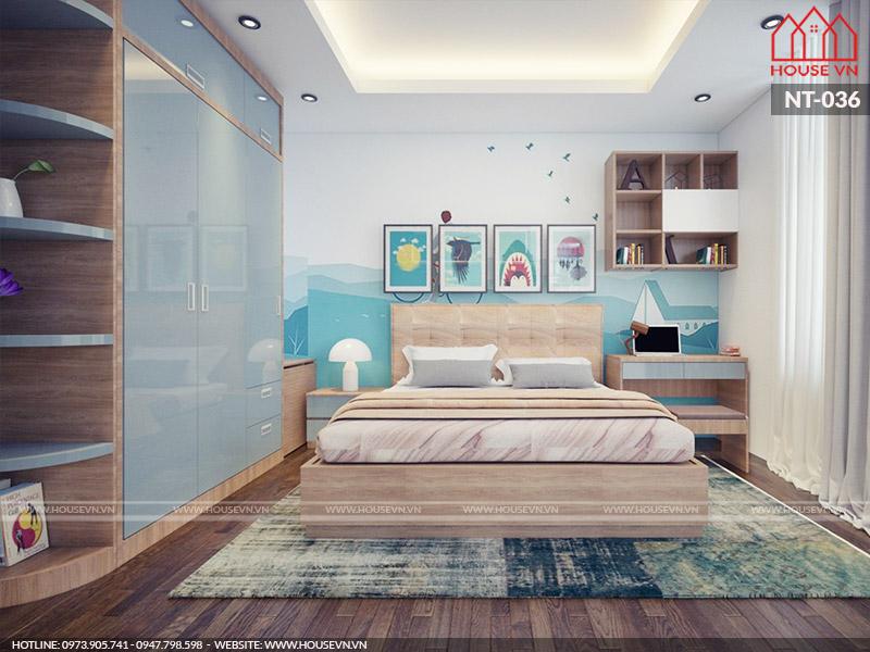 Gợi ý thiết kế nội thất phòng ngủ bé trai nào cũng yêu thích