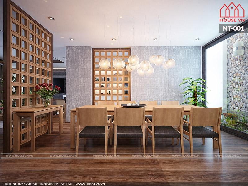 Xu hướng thiết kế phòng ăn phong cách hiện đại dành cho nhà phố