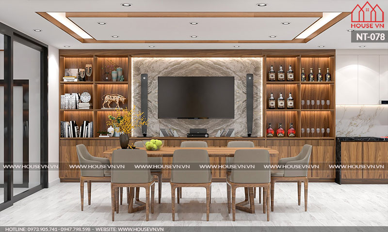 Tuyển tập những mẫu thiết kế nội thất bếp ăn đẹp ấn tượng