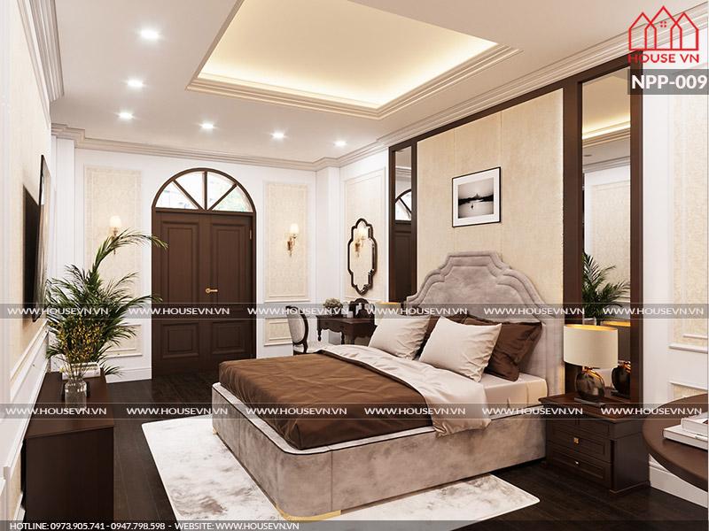 Tư vấn thiết kế nội thất phòng ngủ phong cách cổ điển đẹp