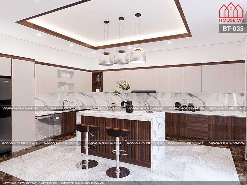 Những phương án thiết kế nội thất phòng bếp đầy đủ tiện nghi