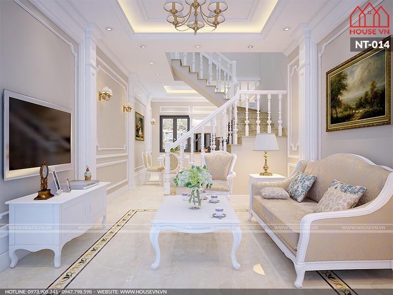 Những mẫu thiết kế nội thất phòng khách nhà phố được yêu thích nhất năm 2019