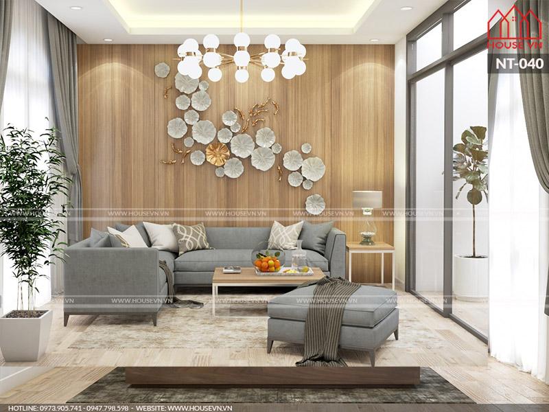 Ý tưởng bày trí nội thất phòng khách đẹp thanh lịch, tinh tế