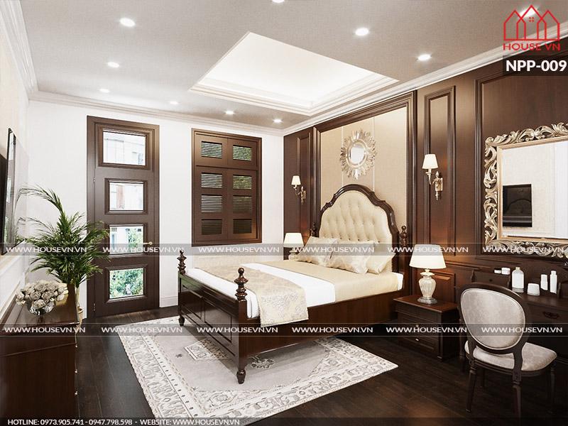 Khám phá những mẫu thiết kế nội thất phòng ngủ cổ điển đẹp đẳng cấp