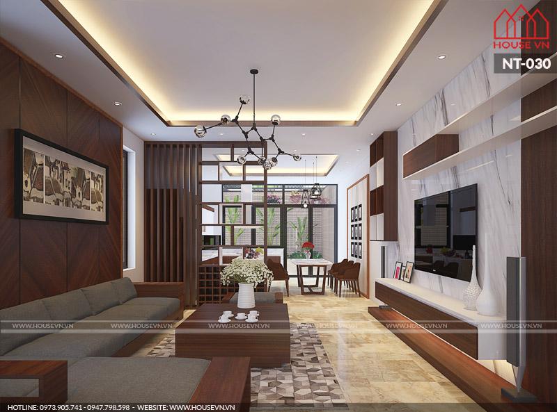 Tư vấn thiết kế nội thất nhà 3 tầng đẹp theo phong cách hiện đại