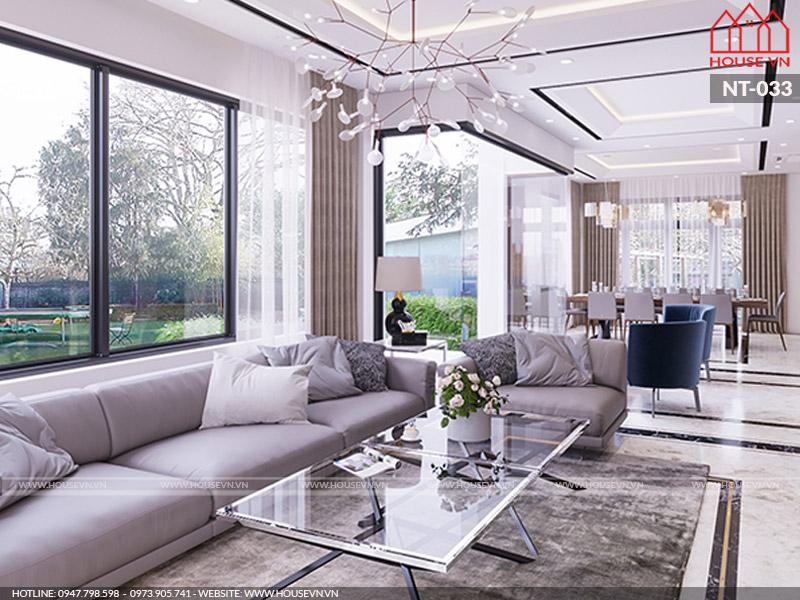 Giải pháp thiết kế nội thất phòng khách 18m2 ấn tượng ai cũng muốn sở hữu