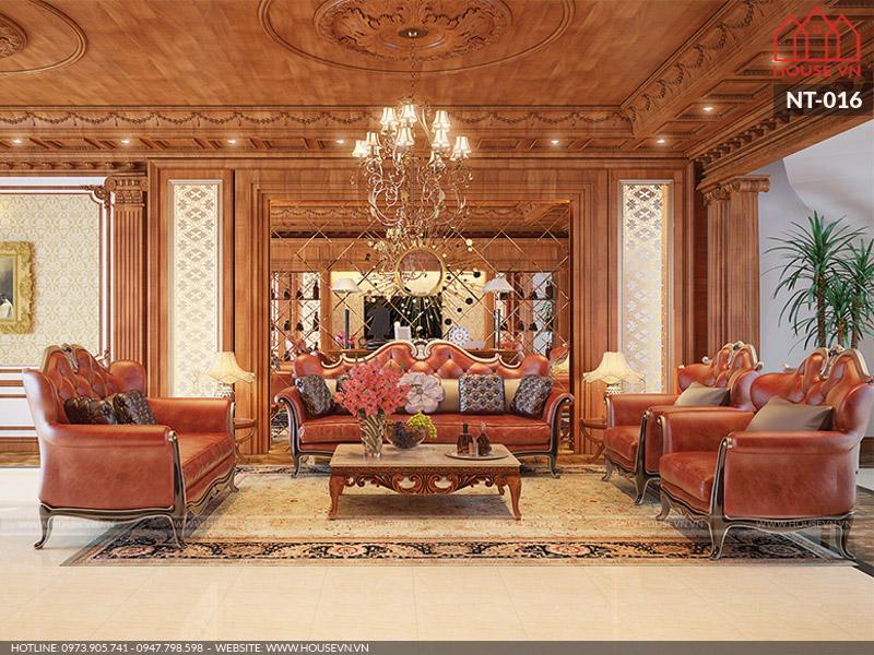 Thiết kế nội thất nhà ống 5 tầng kiểu Pháp đẹp rạng ngời