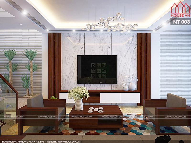 Ấn tượng mẫu nội thất trọn gói sang trọng
