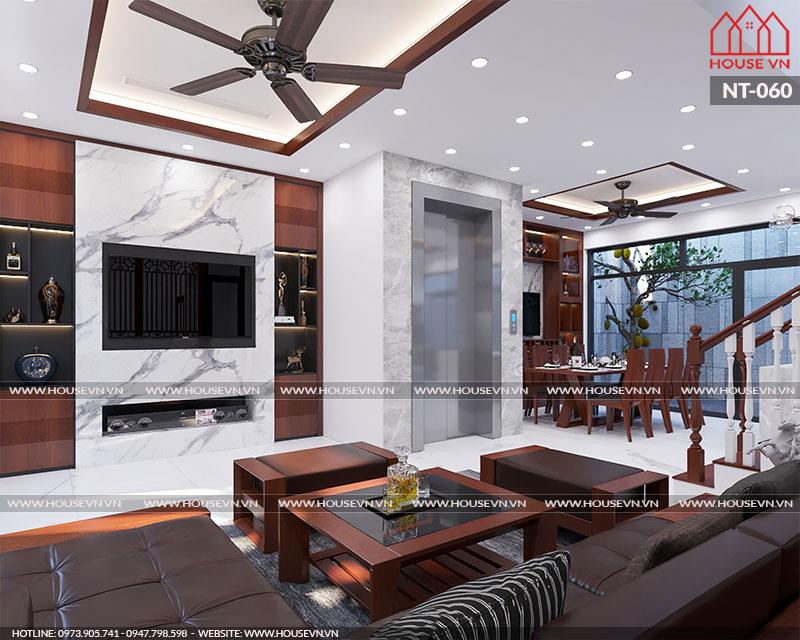 Tư vấn thiết kế nội thất biệt thự Venice Vinhomes Imperia sang trọng, NT-060