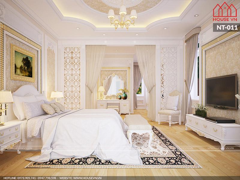 Tham khảo 10 mẫu nội thất phòng ngủ tân cổ điển vương giả phù hợp với mọi ngôi nhà