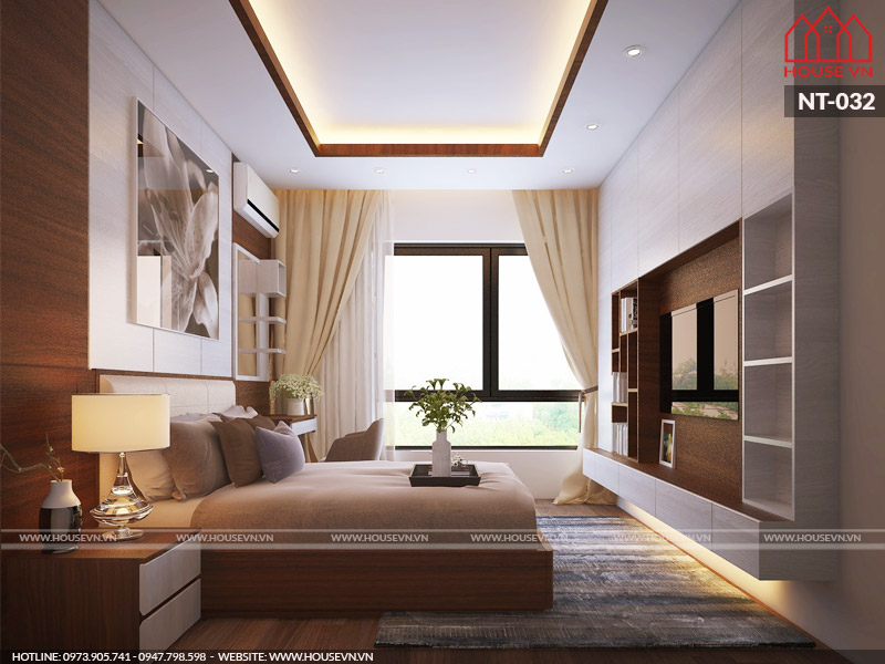 Cách trang trí phòng ngủ xu hướng hiện đại cho 2 người đẹp nhất