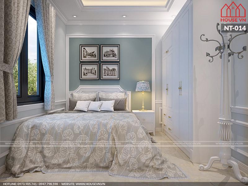 Thiết kế nội thất phòng ngủ tân cổ điển sang trọng lý tưởng ai cũng mê