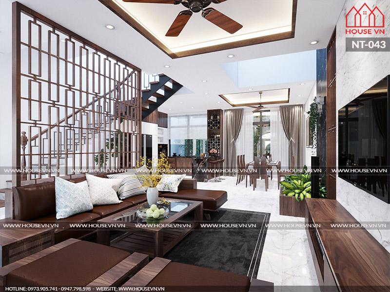 Thiết kế nội thất biệt thự Vinhomes Imperia 3 phòng ngủ