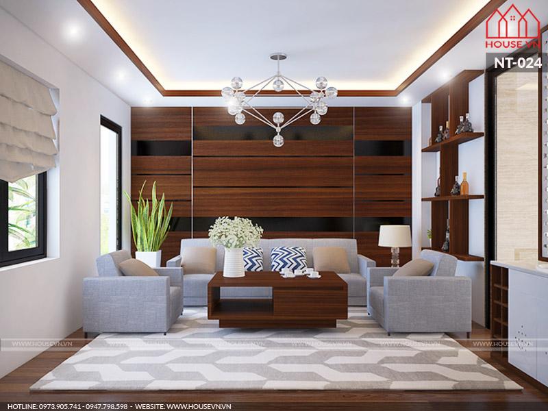 10 mẫu thiết kế nội thất phòng khách đẹp thuyết phục mọi chủ đầu tư