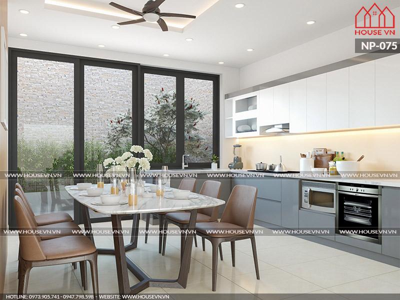 Gợi ý thiết kế nội thất phòng bếp trong không gian nhỏ hẹp