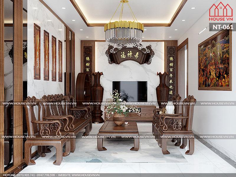 Phương án cải tạo nội thất nhà ống đẹp thuyết phục chủ đầu tư, NT-061
