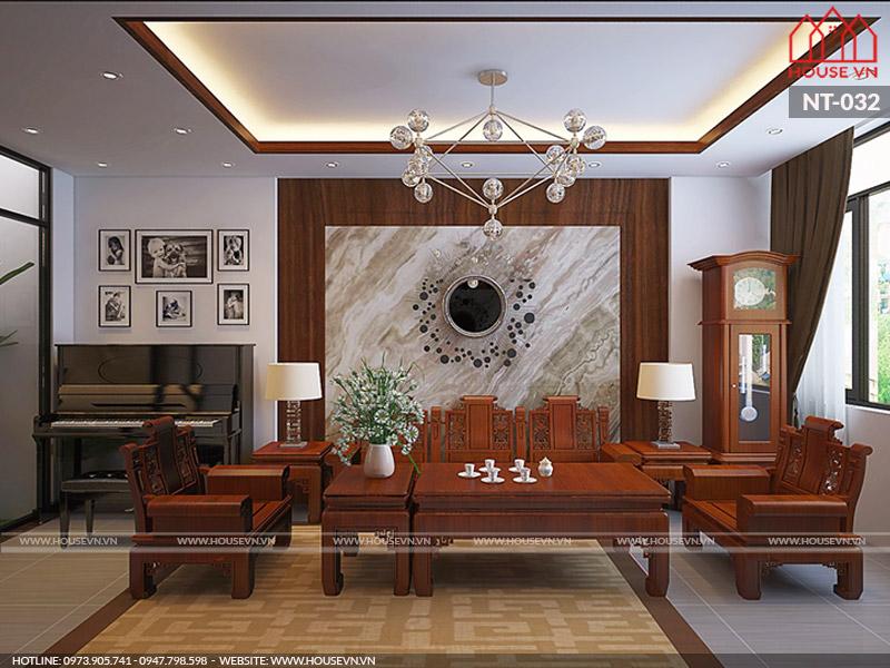 Những mẫu thiết kế nội thất phòng khách được yêu thích hiện nay