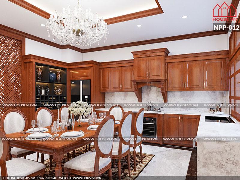 Ngắm nhìn những mẫu nội thất phòng bếp cổ điển đẹp cuốn hút