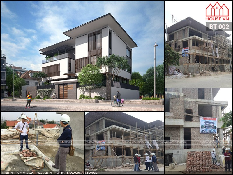 housevn thiết kế thi công xây nhà xây biệt thự trọn gói uy tín
